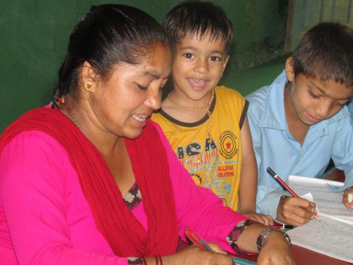 Mother:Smarika Poudel