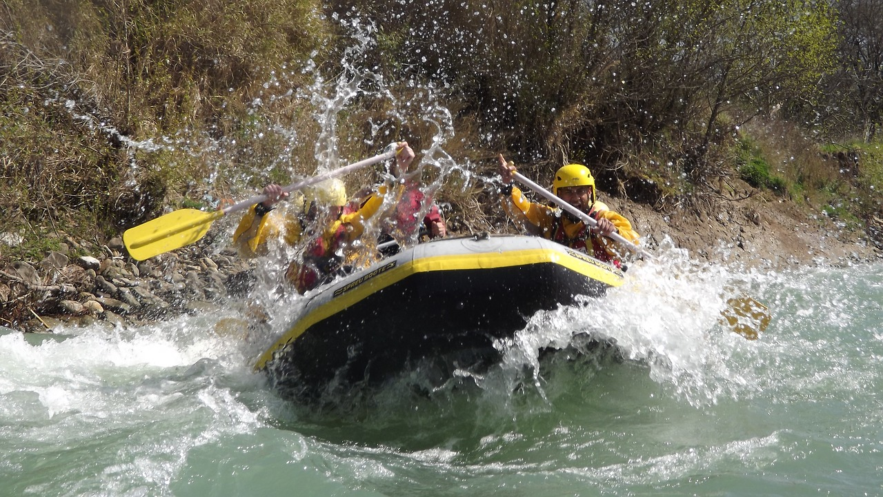 Summer Rafting In Nepal